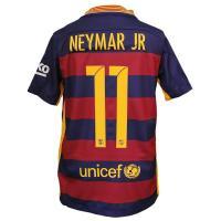 15-16バルセロナ/ホーム 半袖/ジュニア用/ネイマールです。