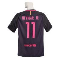 16-17年バルセロナ/アウェイの半袖スポンサー付 ネイマールです。
