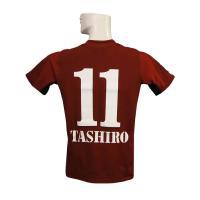 12年ヴィッセル神戸のホーム 田代の半袖シャツです。