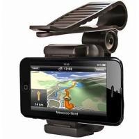 ・サンバイザー取付用のクリップ式、スマートフォン、ナビ、GPS取付キットです。 ・アーム伸縮幅:約5...