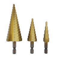 穴拡大、バリ取りに最適。チタンコーティングで耐熱性に優れ、長寿命です。  ・材質:HSS鋼、六角軸、...