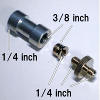 ・1/4インチ-3/8インチ変換コネクタ 3点セット  何かと役に立つ変換コネクタです。1/4インチ...