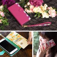 iphone se2 se ケース 第2世代 手帳型 iphone11 ケース手帳型 iphone8 iPhone7 ケース おしゃれ 花柄 fleur|ndos|12