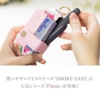 iQOS3 ケース 手帳型 アイコス3 ケース 新型 カバー iqos3ケース アイコス3ケース レザー カラビナ 電子たばこ SMOKE EASY FLEUR|ndos|02