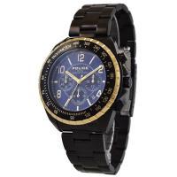 ポリス POLICE 腕時計 メンズ NEW NAVY 12545JSBG-03M エレガントで気品...