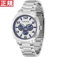 ポリス POLICE 腕時計 メンズ サンマリノ SAN MARINO 14582JS-01M スタ...