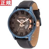 ポリス POLICE 腕時計 メンズ MALLET マレット 14678JSBL-61 メタリックな...