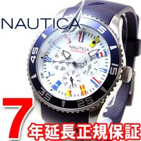 ノーティカ NAUTICA 腕時計 メンズ NST07 フラッグ A12627G インダイヤルでカレ...