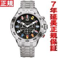 ノーティカ NAUTICA 腕時計 メンズ NST クロノフラッグ A29512G フラッグシップモ...