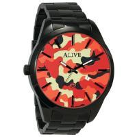 ALIVE ATHLETICS アライブアスレティックス 腕時計 メンズ ジ・アンサー カモ THE...
