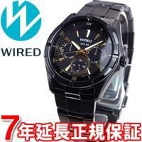 ワイアード WIRED ソーラー 腕時計 メンズ ニュースタンダードモデル AGAD053 セイコー...