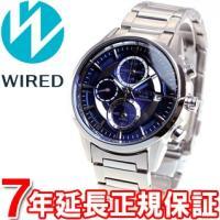 ワイアード WIRED ソーラー 腕時計 メンズ アポロ APOLLO クロノグラフ AGAD060...