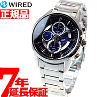 ワイアード WIRED ソーラー 腕時計 メンズ アポロ APOLLO クロノグラフ AGAD062...