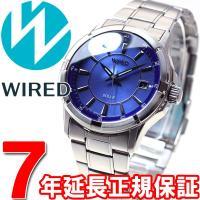 ワイアード WIRED ソーラー 腕時計 メンズ AGAD067 ニュースタンダードモデル セイコー...