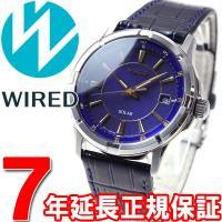 ワイアード WIRED ソーラー 腕時計 メンズ AGAD068 ニュースタンダードモデル セイコー...