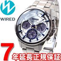ワイアード WIRED ソーラー 腕時計 メンズ アポロ APOLLO クロノグラフ AGAD069...