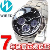 ワイアード WIRED ソーラー 腕時計 メンズ アポロ APOLLO クロノグラフ AGAD071...