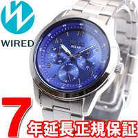 ワイアード WIRED ソーラー 腕時計 メンズ ペアスタイル AGAD081 セイコー SEIKO...