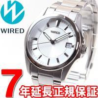 ワイアード WIRED 腕時計 メンズ ペアスタイル PAIR STYLE 3針カレンダーモデル A...