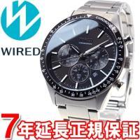 ワイアード WIRED 腕時計 メンズ AGAT401 クロノグラフ ニュースタンダードモデル セイ...