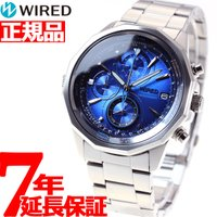 ワイアード WIRED 腕時計 メンズ ザ・ブルー THE BLUE クロノグラフ AGAW439 ...