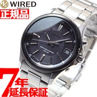 ワイアード WIRED 電波 ソーラー セイコー SEIKO 電波時計 腕時計 メンズ AGAY01...