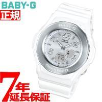 カシオ ベビーG BABYG 腕時計 レディース 白 ホワイト アナデジ BGA-100-7B3JF...