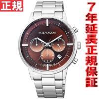 インディペンデント 腕時計 メンズ タイムレスライン クロノグラフ BR1-811-91 INDEP...