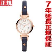 フォッシル FOSSIL 腕時計 レディース ジョージア GEORGIA ES4026 NAVY ×...