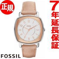 フォッシル FOSSIL 腕時計 レディース IDEALIST ES4196 ローズゴールドとホワイ...