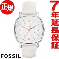 フォッシル FOSSIL 腕時計 レディース IDEALIST ES4216 クリーンなホワイトにロ...