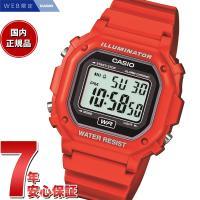 カシオ CASIO 限定モデル 腕時計 メンズ レッド デジタル F-108WHC-4AJF スタン...