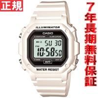 カシオ CASIO 限定モデル 腕時計 メンズ ホワイト デジタル F-108WHC-7AJF スタ...