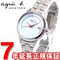 アニエスベー ソーラー 腕時計 レディース ペアウォッチ FBSD953 agnes b. シンプル...