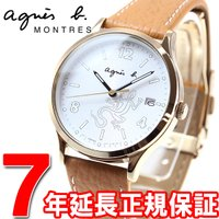 アニエスベー 腕時計 メンズ/レディース レザール FBSD955 agnes b. アニエスベーの...