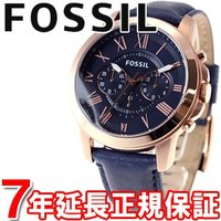 FOSSIL フォッシル 腕時計 メンズ GRANT グラント クロノグラフ FS4835 「クラッ...