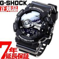 Gショック G-SHOCK 腕時計 メンズ ブラック アナデジ GA-400GB-1AJF カシオ ...