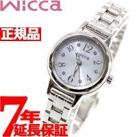 ウィッカ シチズン wicca ソーラー エコドライブ 腕時計 レディース スワロフスキーモデル K...