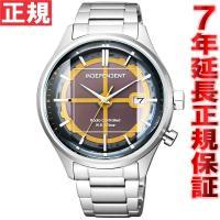 インディペンデント ソーラー 電波時計 腕時計 メンズ イノベイティブライン 20周年記念モデル K...