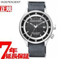 インディペンデント ソーラー 電波時計 腕時計 メンズ タイムレスライン TIMELESS line...