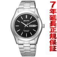 シチズン レグノ ソーラー 腕時計 メンズ スタンダード リングソーラー KM1-211-51 CI...