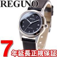 シチズン レグノ ソーラー 腕時計 レディース ペアウォッチ フレキシブルソーラー KM4-015-...