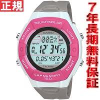 【正規販売店】ならではの安心と高いクオリティの保証。カシオ スポーツギア ソーラー 腕時計 レディー...