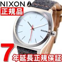 ニクソン NIXON タイムテラー TIME TELLER 腕時計 メンズ/レディース グレイ/タン...