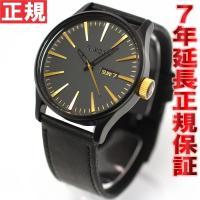 ニクソン NIXON 腕時計 セントリーレザー SENTRY LEATHER 腕時計 メンズ マット...