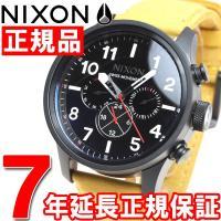 ニクソン NIXON サファリデュアルタイムレザー SAFARI DUAL TIME LEATHER...