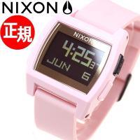 ニクソン NIXON ベースタイド BASE TIDE 腕時計 メンズ/レディース ソフトピンク/ゴ...