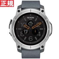 ニクソン NIXON ミッション MISSION スマートウォッチ 腕時計 メンズ コンクリート N...