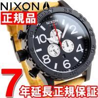 ニクソン NIXON 51-30クロノレザー 51-30 CHRONO LEATHER 腕時計 メン...