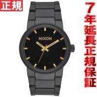 ニクソン NIXON キャノン CANNON 腕時計 メンズ オールブラック/ゴールド NA1601...